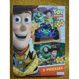 Rompecabezas Puzzle Disney Toy Story 2 En 1
