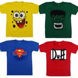 Camiseta Bob Esponja - Incrível Hulk - Jesus Herói - Duff