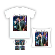 Kit Camiseta, Almofada E Caneca Luan Santana 02