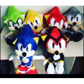 Sonic Pelucia Boneco Grande 45 Centimetros Valor Unitario