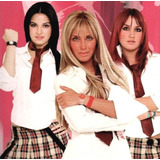 Dvd Novela Rebelde Completa - As 3 Temporadas Em 72 Dvds.