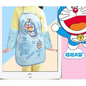 Delantal De Niños(as) De Doraemon, Nuevos Y Sellados.