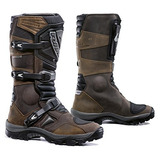 Forma Adventure Botas De Motocicleta Off-road (marrón, Tama
