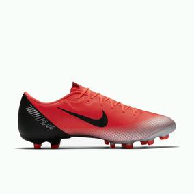 558ace3eee Vermelha Nº 37 Chuteira Nike Vapor V Fg Azul Preta Prata Adultos ...