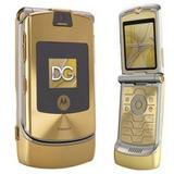 Celular Motorola V3i Dolce & Gabbana Gold Ouro Ja No Brasil