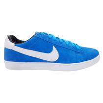 Tênis Nike Blazer Couro Azul
