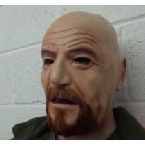 Mascara Realista Humana Walter White Breaking Bad