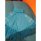 Poncho Talle 6/8