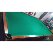 Mesa De Bilhar Snooker Profissional Muito Linda, Aceito Moto