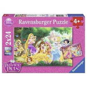 2 Rompecabezas Mejores Amigos De Las Princesas Disney 24pzs
