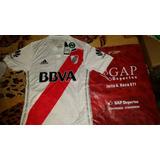 Camiseta Titular River Versión Adizero