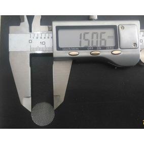 Telas Inox 100 Und. P/ Narguile, Bong, Pipe Vape 15mm/1.5cm