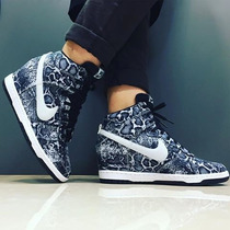 Zapatillas Nike Dunk Sky Hi Print - Botin Jordan Talla Us 7