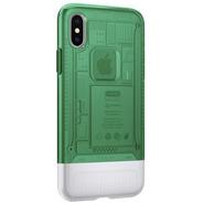 Capa De Celular Spigen iPhone X Classic C1 Sage - 057cs23196