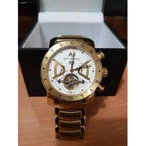 Relógio Bvlgari Scuba Crono 38mm Ouro Amarelo 18k Completo. Usado -  Distrito Federal · Relogio Bvlgari 18k 2d9f462dec