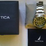 Reloj Marca Nautica Original Mas Certificado Origen