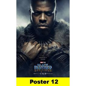 Poster Filmes 40x60 - Pantera Negra (2018)