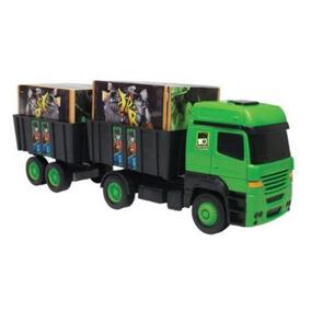 Caminhão Cargueiro Bi-trem Tork Ben10 Multibrink Ref:1000410