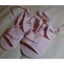 Sandalias Minimimo Beba Rosa Talle 17