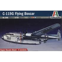 Avion Italeri P/armar C 119g Flying Boxcar 1/72 Kit 146