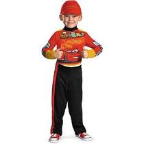 Disfraz Disney Cars 2 Rayo Mcqueen Pit Crew Classic Niños Di