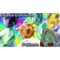 Objetos Evol. Pokémon Sol/luna-x/y-or/az 2x$5.00