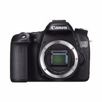 Câmera Canon Eos 70d Corpo+bolsa+tripé+32gb C/10