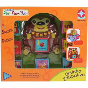 Ursinho Educativo - Coleção Pim Pam Pum - Estrela