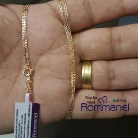 Cordão Rommanel Elo Ovais 60cm 531659 Masculina