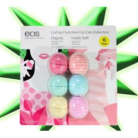 Eos Lip Balm Protetor Labial Kit Com 6 - Pronta Entrega