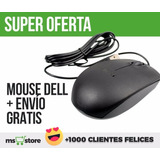 Mouse Dell Optico Usb Original Gratis Envio