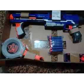 Pistola Nerf De Juguetes. Con Dardos La Original