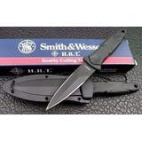 Faca Punhal De Bota Tática Militar Smith & Wesson Hrt Swhrt3