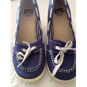 Zapatos De Jeans Grueso Mujer N 39
