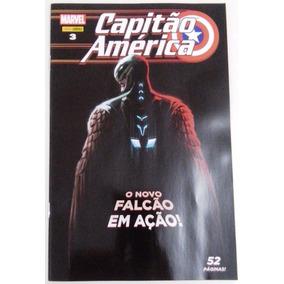 Hq Capitão América Nº 3 - O Novo Falcão Em Ação. Ed. Maio/17