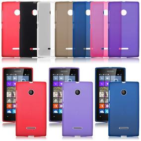 Combo Funda Silicona Tpu Nokia Lumia 435 + Vidrio Templado