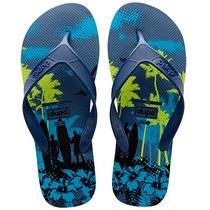 Chinelo Masculino Dupé (havaianas) Surfe - Azul