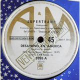 Supertramp Desayuno En America Disco Simple Vinilo A&m Promo