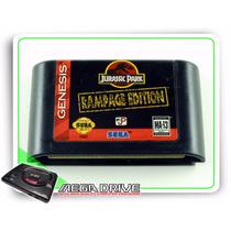 Jurassic Park Rampage Edition Original Mega Drive / Genesis