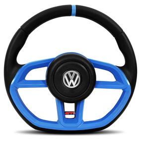 Volante Golf Gti Azul Gol Parati Saveiro G2 G3 G4 Vision