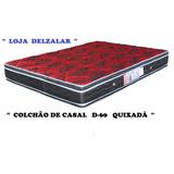 Colchão Casal D-60 Quixadá 138x188x25 Retirada Em Jundiaí