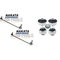 Par Bieleta Barra Estabilizador Nakata + Bucha Hf 206 207