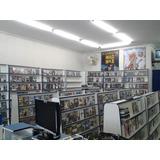 Video Locadora Completa ! Com 1500 Dvds E 500 Blu-ray