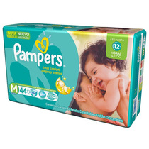 Fralda Pampers Total Confort M Com 44 Tiras