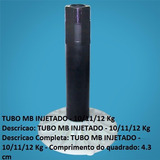 Tubo Transmissão Lavadora Ge/continental 10/11/12/13kg