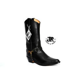 Botas Texanas - Jr Boots & Shoes - Art. 6070 Negro