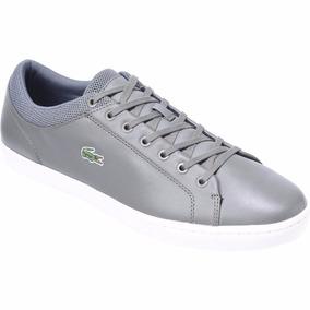 Zapatillas Straightset Cuero Gris Originales Nuevas