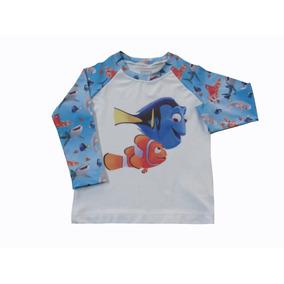 Camiseta Com Proteção Uv - Camisetas de Bebê no Mercado Livre Brasil a35d29ea792