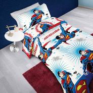 Juego De Sabanas  Superman -  Twin