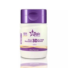 Magic Color 100ml - Platinum Branco Desamarelador Gloss 3d